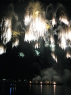 ...and the following fireworks show